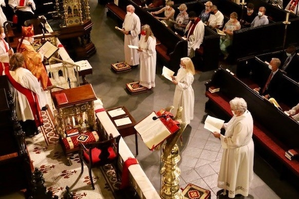 Four Deacons Ordained in Upper South Carolina