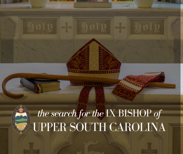 Standing Committee Announces Slate for IX Bishop of Upper South Carolina
