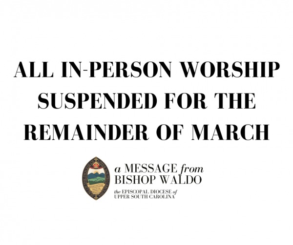 Suspension of Public Worship