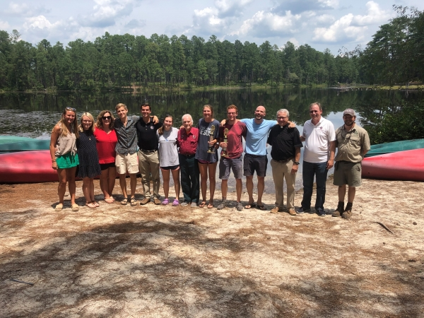 Gravatt holds Staffer of the Year presentation